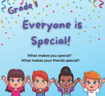 Grade 1 students will celebrate Children's Day in English class!