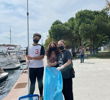 INTERACT CLUB: CLEAN SEA, BRIGHT FUTURE PROJECT